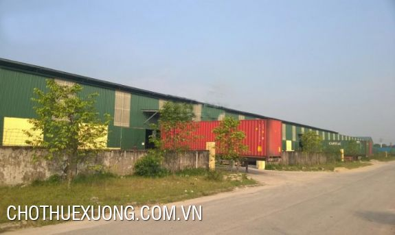 Factory/warehouse/wharve (5ha) for lease in Viet Tri city, Phu Tho