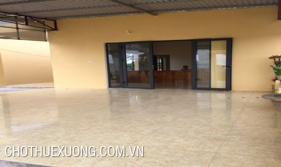 2500sqm industrial land for lease in Tho Xuan, Thanh Hoa