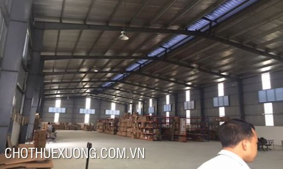 1300sqm factory for lease in Phu Tho town