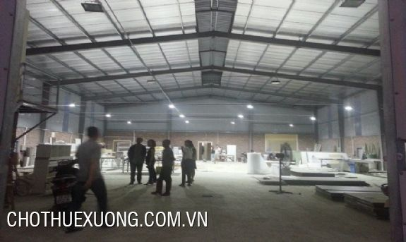 440m2 factory for lease in Thanh Oai industrial cluster, Hanoi
