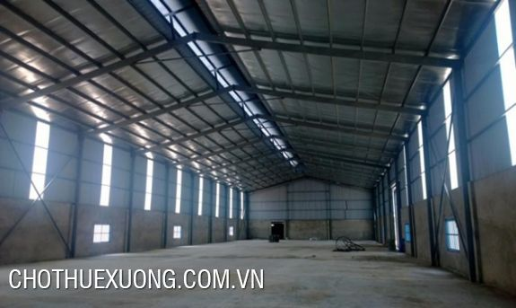 1800m2 factory for lease in Tri Qua Ha Man Thuan Thanh Bac Ninh