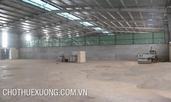 Factory of 800m2 for lease in Thanh Ha, Ha Dong, Hanoi