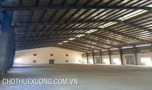 Warehouse/Factory for lease in Luong Son industrial zone, Hoa Binh