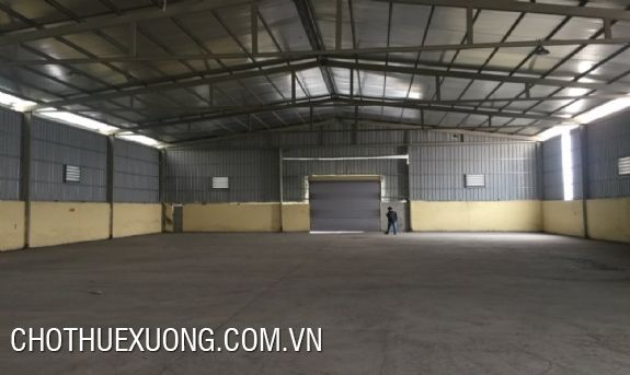 300m2 factory for lease in Quang Minh industrial zone, Hanoi