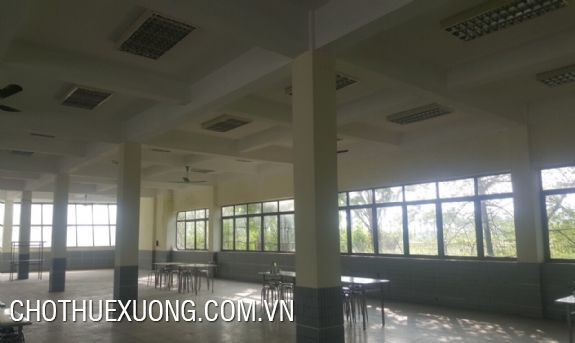 5000m2 factory for lease in Lai Vu industrial zone, Kim Thanh, Hai Duong