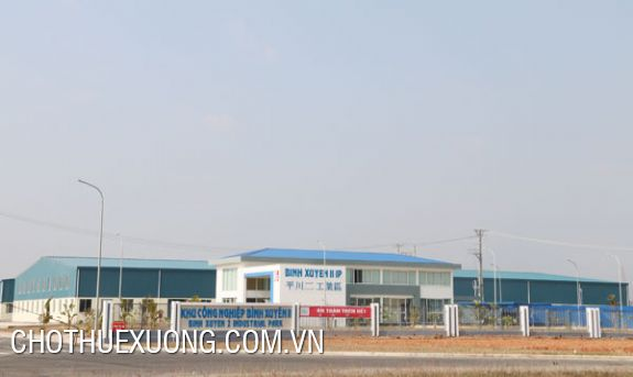 2000sqm factory for rent in Binh Xuyen 2 industrial zone, Vinh Phuc
