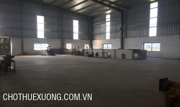 1500m2 factory for lease in Trung Ha industrial zone, Tam Nong, Phu Tho