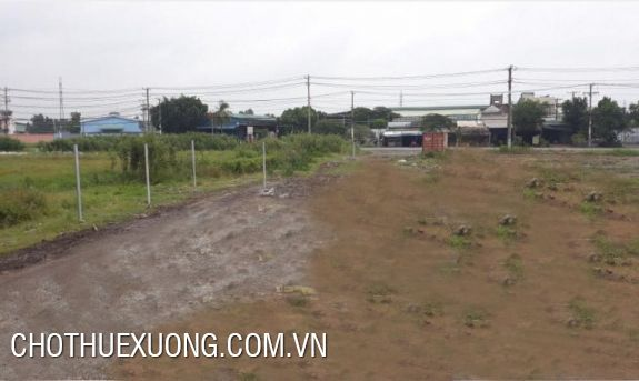 Industrial land for lease in Vac crossroads, Thanh Oai, Ha Noi