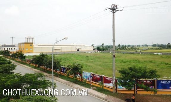 Industrial land for sale near Phu Nghia industrial zone, Hanoi