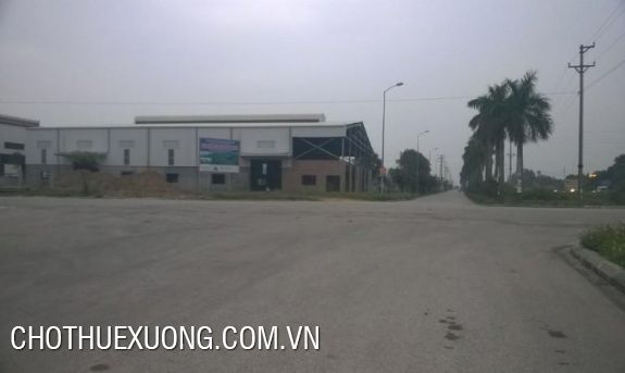 1000m2 factory for lease in Khai Son industrial zone, Thuan Thanh, Bac Ninh