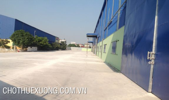4000sqm factory for rent in Nam Sach, Hai Duong