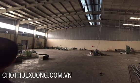 500m2 factory for rent in Phuc Tho, Ha Noi near Gach town