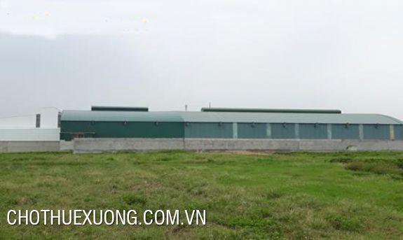7500m2 land for sale in Thanh Oai industrial zone, Ha Noi