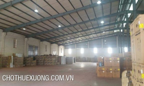 Factory for lease in Phu Minh industrial zone, Tu Liem, Ha Noi
