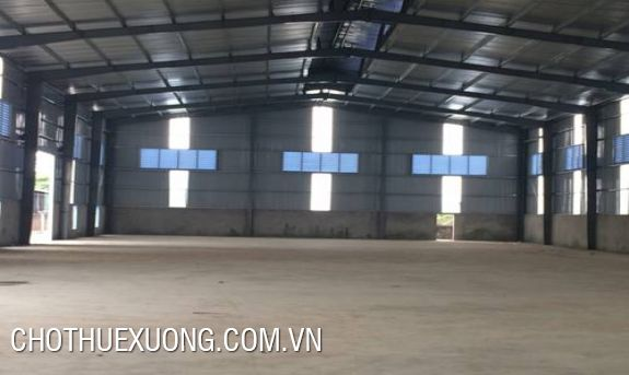 Factory for lease in Thai Binh city, nearby the national expressway 10