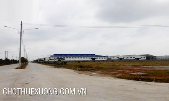 Industrial land for sale in Binh Xuyen Vinh Phuc (3900sqm and 5000sqm)