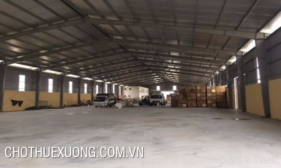 For rent 2 standard warehouses in Kieu Ky, Gia Lam, Ha Noi
