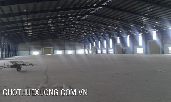 3000sqm factory for lease in Ngoc Thanh commune, near Dai Lai resort, Vinh Phuc