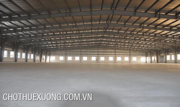 1500sqm factory for rent in Khai Son, Thuan Thanh, Bac Ninh