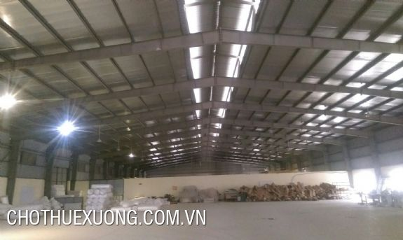 For rent 2 factories (1100m2 and 1500sm2) in Phuc Yen, Vinh Phuc