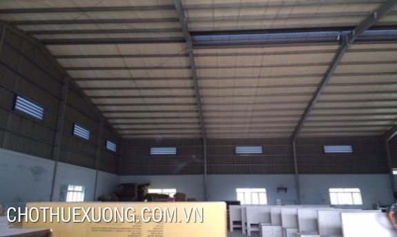 For rent factory of 680m2 near the national road 38, An Thi, Hung Yen