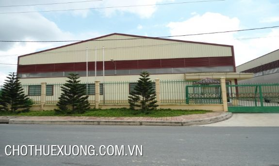 For rent new factory (2500sqm to 3000sqm) in Phuc Yen, Vinh Phuc