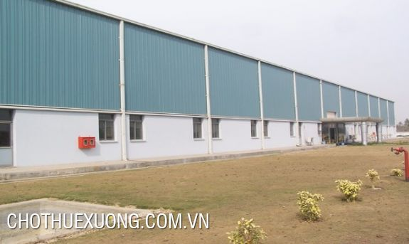 For rent 2 factories in Thach Khoi 1 industrial cluster, Hai Duong city