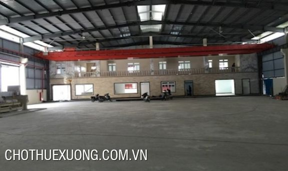 1000m2 factory for rent in Hoa Lac, near Thang Long Boulevard