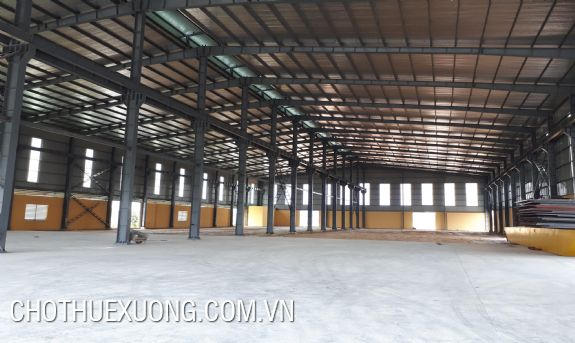 Newly-built standard factory for rent in Son Tay, Hanoi