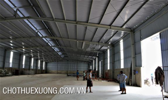 For rent 1200m2 factory in Co Loa, Dong Anh, Hanoi
