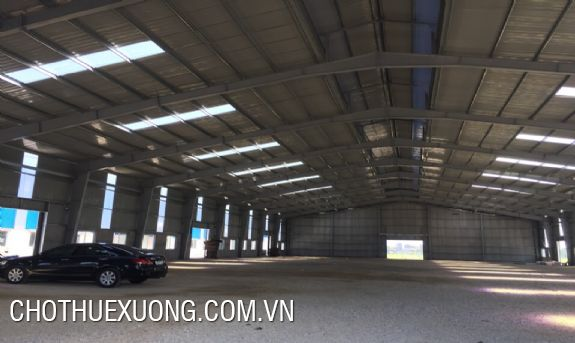 2500m2 factory for rent in Binh Giang, Hai Duong near the national road 39