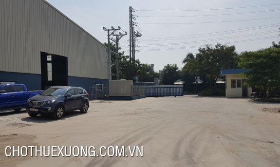 1800m2 factory for rent in industrial zone in Dong anh Hanoi