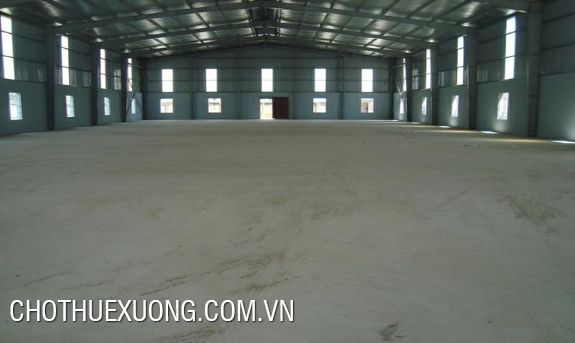 1000-5000m2 factory for rent in Bien Giang, Ha Dong, Hanoi