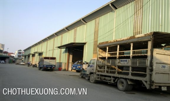 12.000m2 factory for rent in Tay Bac Ga industrial zone, Thanh Hoa city