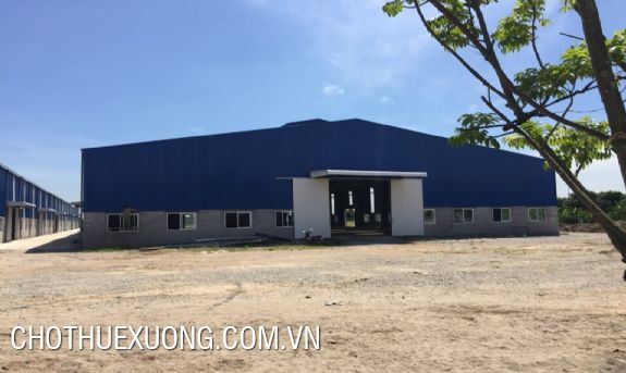 For rent 2000m2 new factory in Thach That, Ha Noi