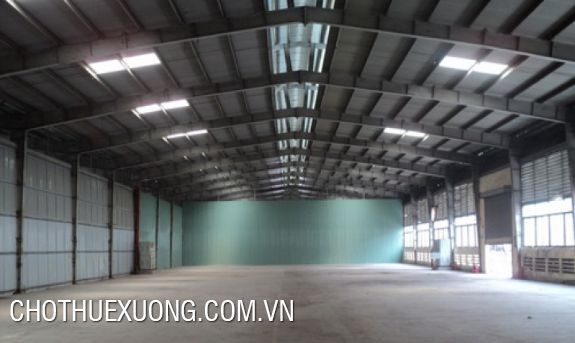 7000m2 factory for rent in Bien Giang, Ha Dong Hanoi