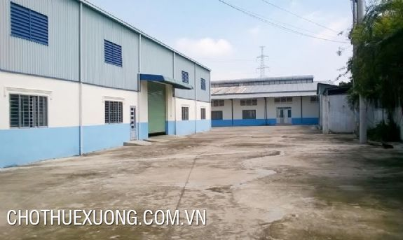 1000m2 factory for lease in Sao Do, Chi Linh, Hai Duong