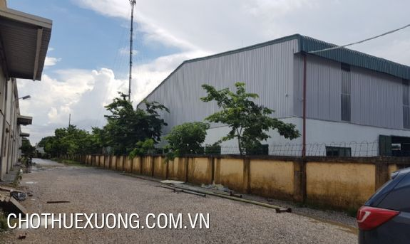 Factory of 2000m2 for lease in Hai Duong city in a site of 3500m2