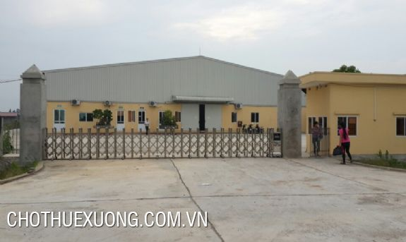 5000m2 factory for rent in Ha Trung Thanh Hoa, away from Bim Son 6km