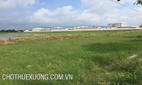 1,9ha industrial land for sale in Chuong My, Hanoi