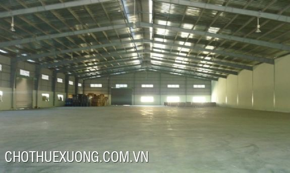 2000m2 factory for lease in Tan Hong industrial zone, Tu Son, Bac Ninh