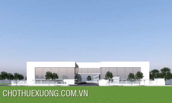 Workshop for rent in Do Son industrial zone, Hai Phong 10.400m2 site(real image)