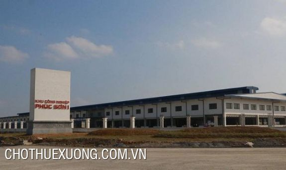 5000m2 land for lease in Phuc Son industrial zone, Ninh Binh city