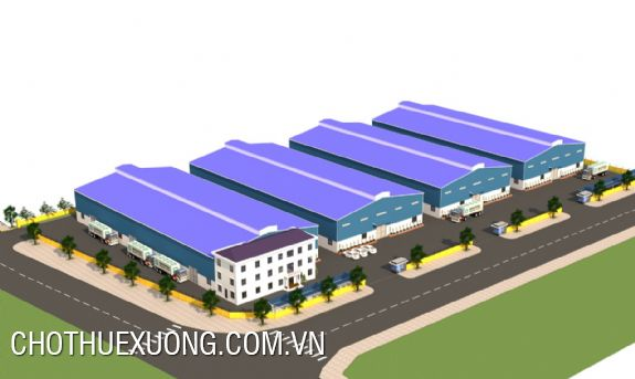 1,2ha new factory for lease in Chau Son industrial zone, Phu Ly, Ha Nam