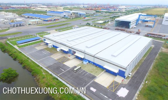 Nice factory for lease in Hai Phong, Dinh Vu industrial park