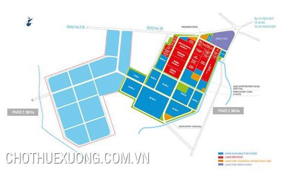 Industrial land for sale in Dong Van IV industrial zone, Ha Nam