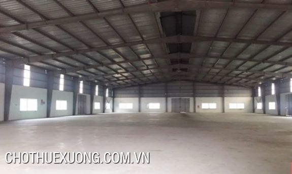 1500m2 factory for rent in Nguyen Khe industrial zone, Dong Anh, Ha Noi