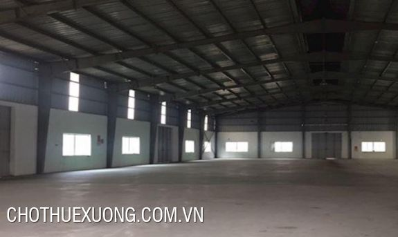 2200m2 factory for lease in Binh Xuyen industrial park, Vinh Phuc