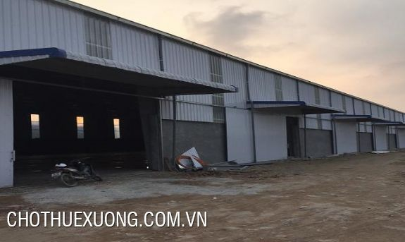 Factory for lease in Gia Loc 1 industrial cluster, Hai Duong city