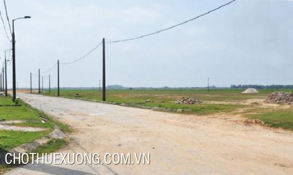 3ha industrial land for sale in Yen Mo, Ninh Binh